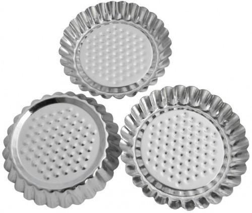 """Набор форм для выпечки """"Тарта""""  3шт Галетте -06283"""