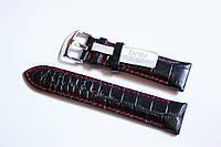 Ремешок для часов Bros BRS2201BL-10 22 мм Черный