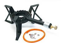 Табурет подставка газовый с термопарой 3p-01 + газовый регулятор + шланг 1,5 метра + 2 зажима