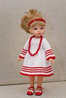 Национальное платье Украиночки  Handmade для кукол Paola Reina, 32 см