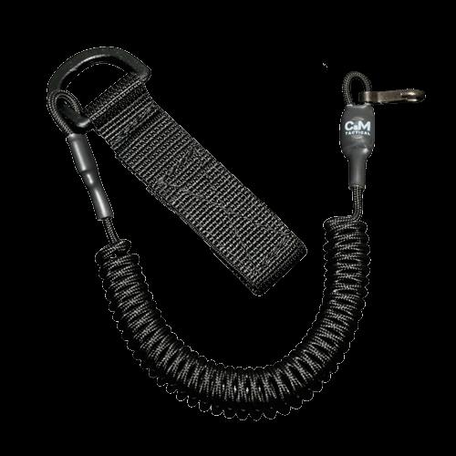 Страховочный шнур С&M Tactical D-петля - карабин