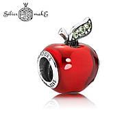 Pandora Шарм Срібло Червоне яблуко. DISNEY, фото 1