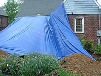 Строительные тенты Тарпаулин, пленки, строительные накрытия от дождя, накрытия от солнца