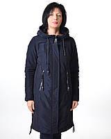 Удлиненная демисезонная куртка Mishele 553, полупальто