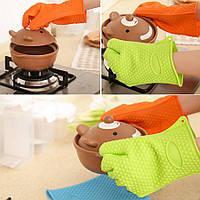 Силиконовая кухонная перчатка
