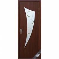 Двери межкомнатные Новый Стиль МОДЕРН Р Парус Р2 600х2000 мм орех