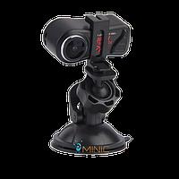 Автомобильный мини видеорегистратор QQ7 1080р с углом обзора 185°