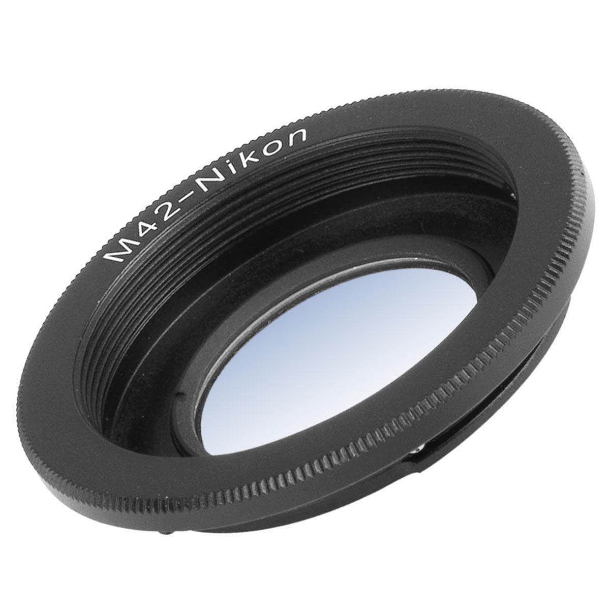 Адаптер-переходник M42-Nikon (с линзой).