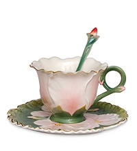 Фарфоровая посуда Pavone Дизайн Герань