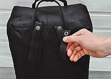 Городской рюкзак в стиле Fjallraven Kanken Classic Black черный, фото 3