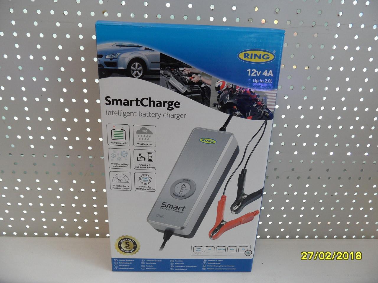 Интелектуальное зарядное устройство 12В 4А RESC604