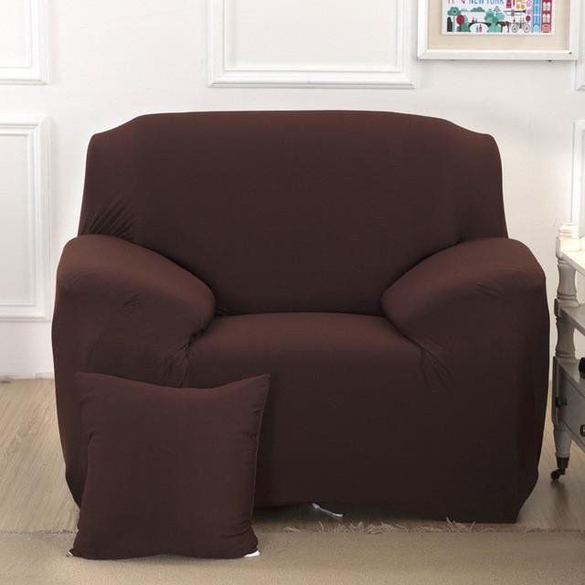 Чехол для Кресла эластичный Бифлекс Кофейный HomyTex