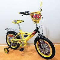 Детский Велосипед TILLY Автогонщик 16 T-216213 yellow + black