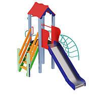 Детский комплекс Петушок высота горки 1,5 м, фото 1