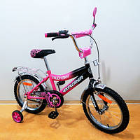 Детский Велосипед EXPLORER 16 T-21617 crimson + black
