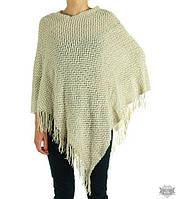 Шаль-свитер фактурной вязки TRAUM