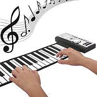 Гибкая midi клавиатура синтезатор пианино 61 клавиша