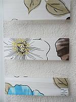 """Жалюзи """"ДЕНЬ-НОЧЬ"""", ш. 100 см. в. 100 см. (тканевые ролеты), открытого типа - Besta mini. OLIVE., фото 1"""