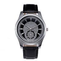 Часы для мужчин (черный ремешок)