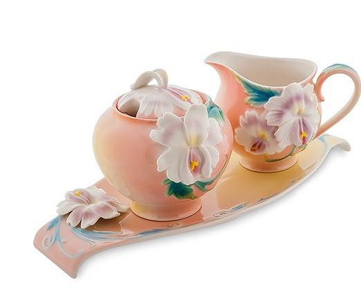 Фарфоровая посуда Pavone Дизайн Сальпиглоссис