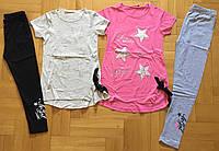 Комплект 2 в 1 для девочек оптом, F&D, 134/140-158/164 см,  № 3675, фото 1