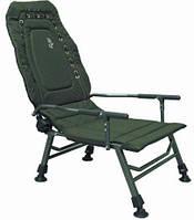 Кресло карповое Elektrostatyk FK2 с подлокотниками (нагрузка 120 кг.)