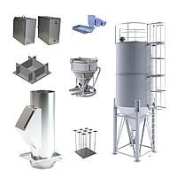 Изделия из листового металла | Мусоропровод | Силоса | Емкости и Закладные из металла | Туфельки
