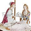 Настольная лампа Италия «Ромео и Джульетта» Sabadin,h-67 см (324Ls), фото 2