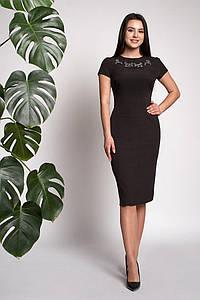 Платье Мирела 0315_2 Чёрное
