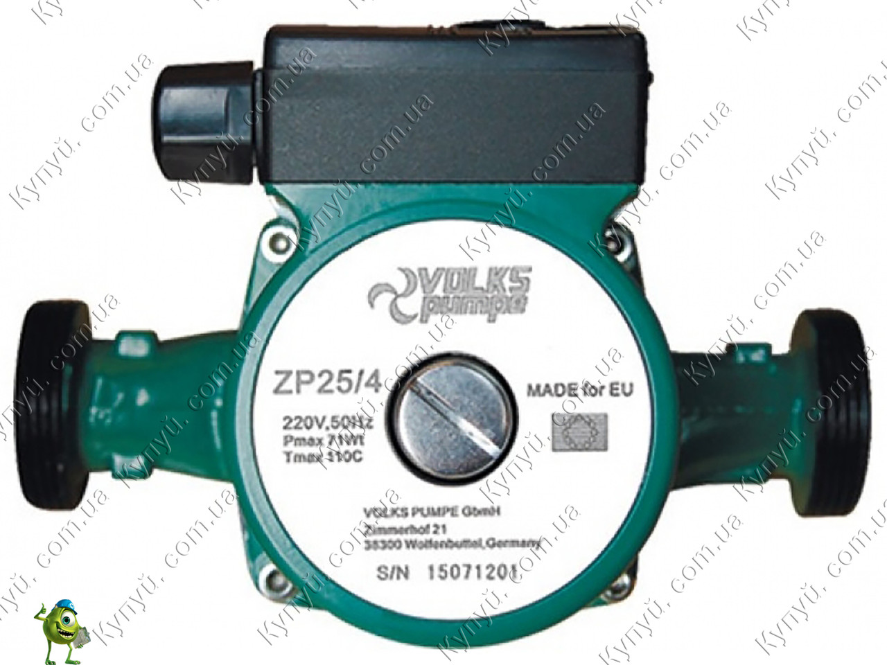 Насос циркуляционный Volks pumpe ZP25/4 130