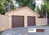 Секционные ворота DoorHan. Шир.: 3000 мм, выс.: 2500 мм.