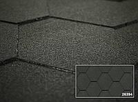 Битумная черепица -Коллекция KERABIT K однотонная тройка черный