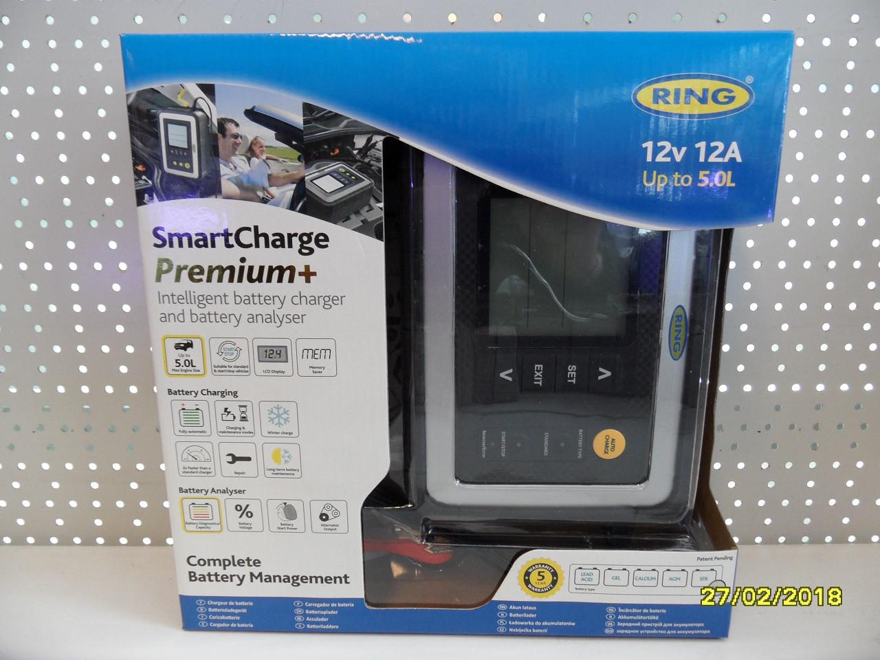 Интелектуальное зарядное устройство RING RESC612 PROFESSIONAL 12В 12А RESC612