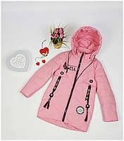 Куртка для девочки  NK 8815 весна-осень, размеры на рост от 134 до 152 возраст от 8 до 12 лет, фото 1