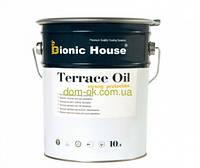 Bionic-House масло для обработки террасной доски Terrace Oil бесцветное 10 л