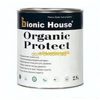 Масло - антисептик для дерева Organic protect oil Bionic-House 2,8 л