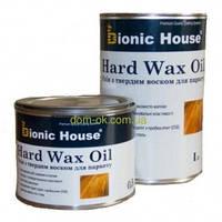 Масло с твердым воском для пола, паркета Hard Wax Oil Bionic-House бесцветное 2,8 л