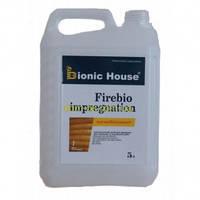 Огнебиозащитная пропитка для дерева Firebio Impregnation Bionic-House 5 кг