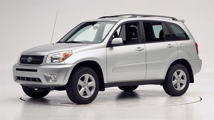 Лобовое стекло Toyota RAV-4  5-Д (2000-2005)