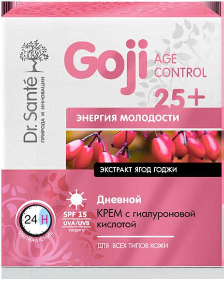 """Дневной крем с гиалуроновой кислотой """"Dr.Sante Goji Age Control"""" 25+, 50мл"""