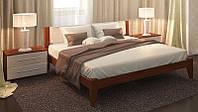Кровать деревянная Фаворит из массива дуба двуспальная, фото 1
