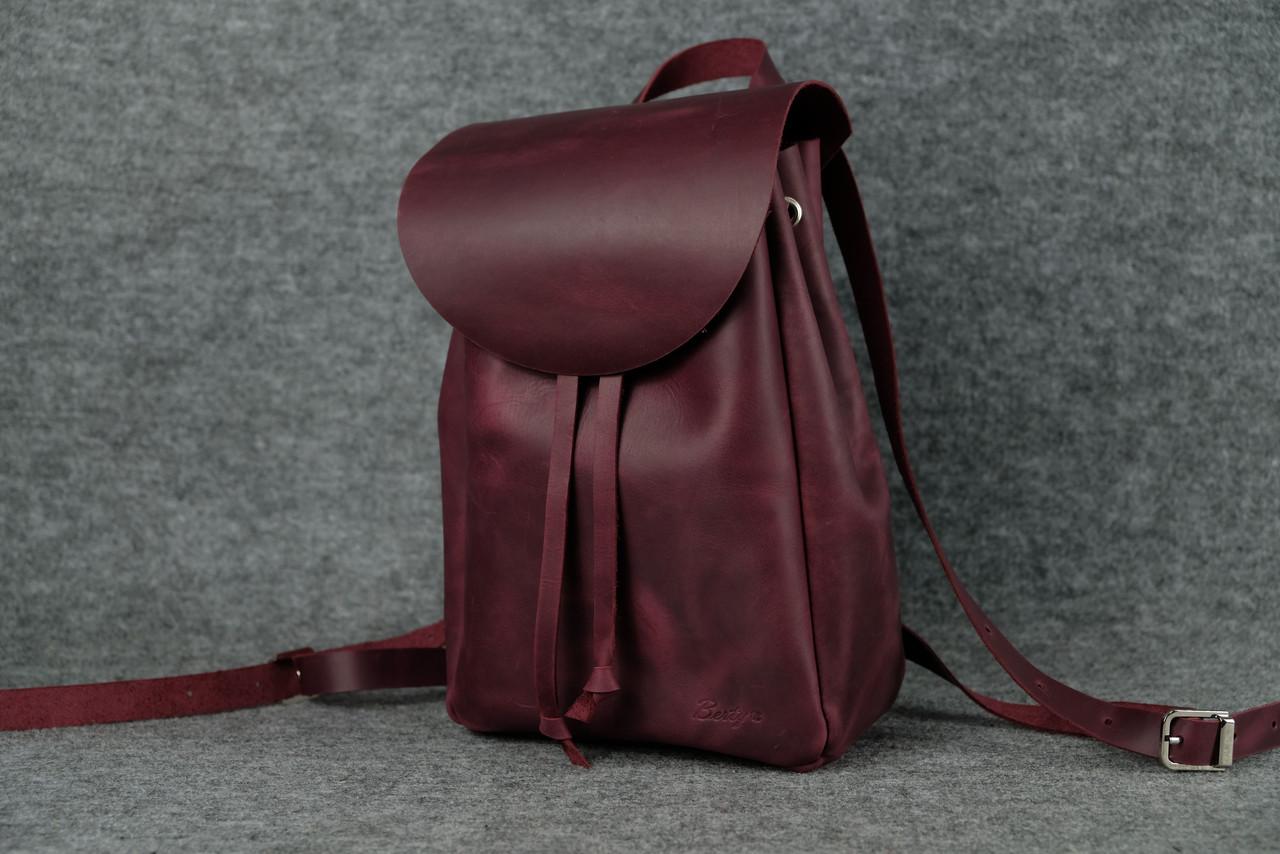 Компактный женский рюкзачок на затяжках |11913| Фиолетовый