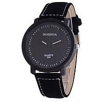 Часы наручные мужские  черный циферблат