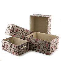 Коробки для хранения 4 шт.