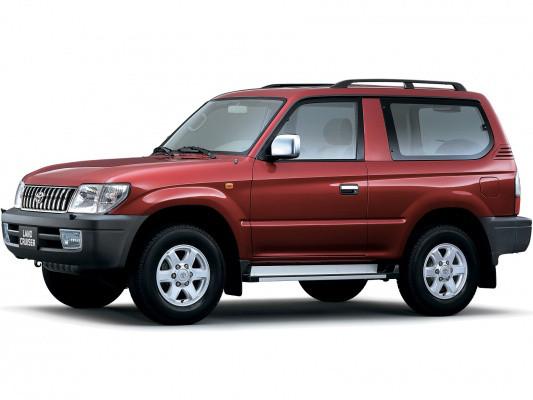 Лобовое стекло Toyota Landcruiser Prado J90 (1996-2002)