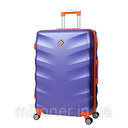 Чемодан Bonro Next (небольшой) фиолетовый, фото 2