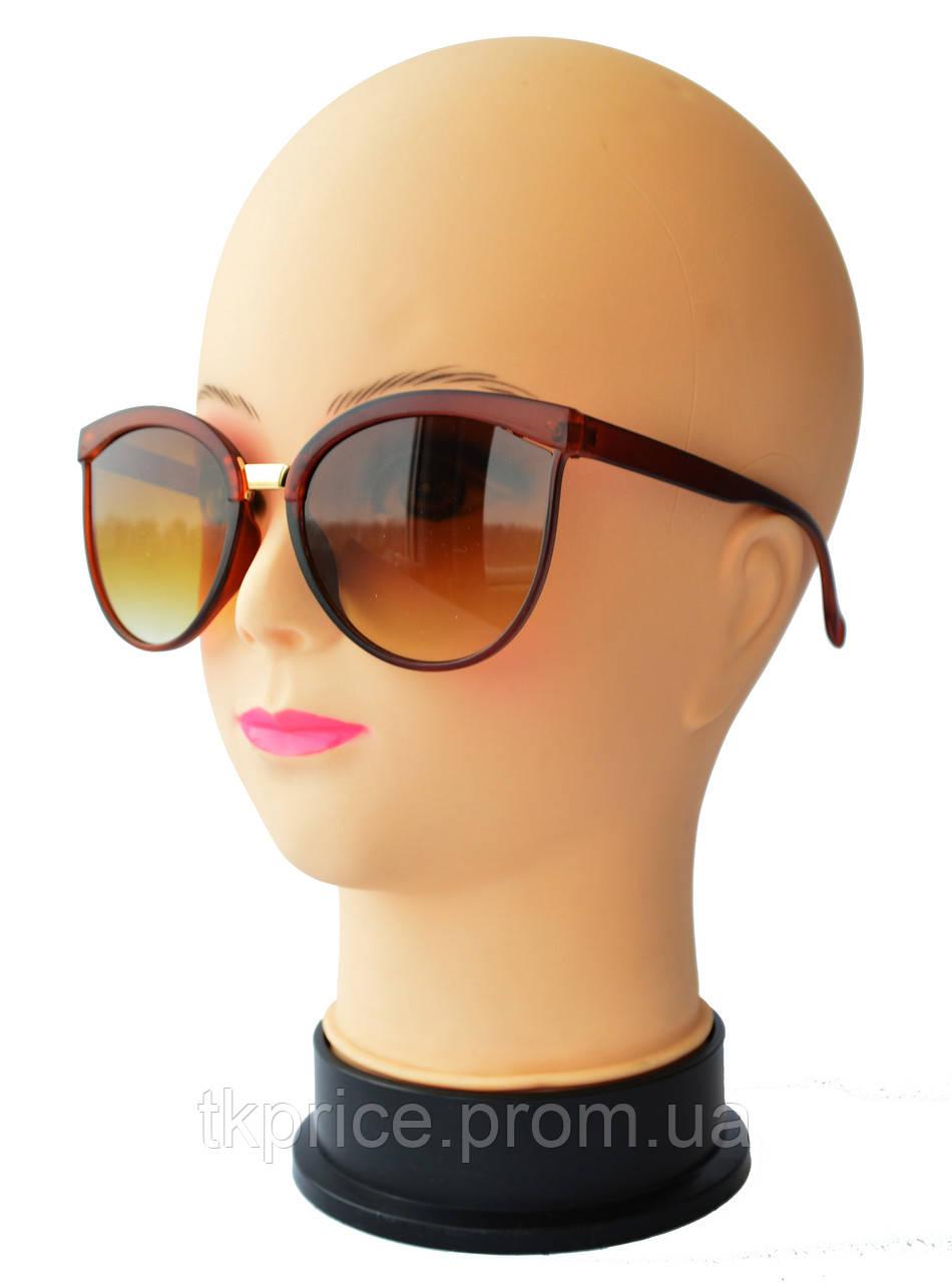 Женские матовые солнцезащитные очки 16160