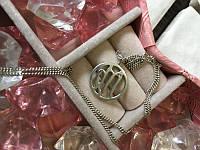 Цепочка с кулоном серебро, фото 1