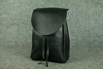 Компактный женский рюкзачок на затяжках |11901| Черный
