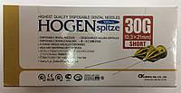 Иглы карпульные Hogen Spitze 30G X 21 mm ( 0.3 X 21 mm )